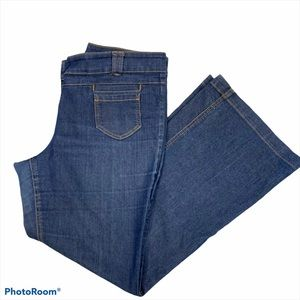 New York & Company Low Rise Flare Leg  Jeans 16